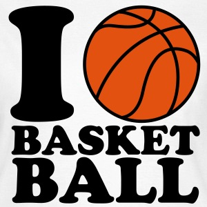 I Love Basketball T-Shirts - Frauen T-Shirt