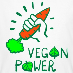 Vegan Power T-Shirts - Men's Organic T-shirt