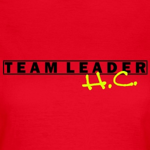 team_leader__h_c_vec_2de T-Shirts - Frauen T-Shirt