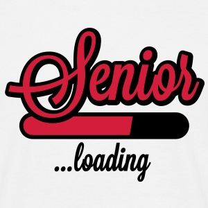 Senior loading T-Shirts - Mannen T-shirt
