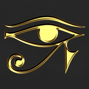 Horus eye, Egypt, protection, magic & strength, T-shirts - Women's Organic T-shirt
