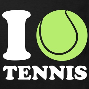 I Love Tennis Kids' Shirts - Kids' Organic T-shirt