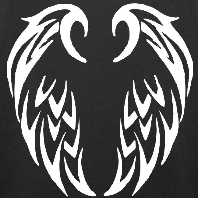 Pull à capuche enfant ailes tribales