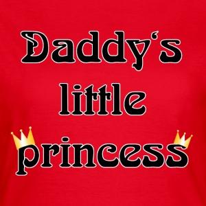 daddys little princess T-shirts - T-shirt dam