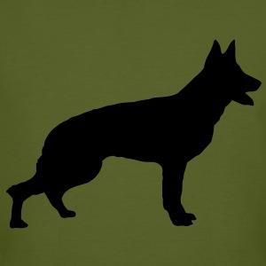 German Shepherd T-Shirts - Men's Organic T-shirt