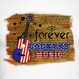forever country music Tee shirts manches longues - T-shirt baseball manches longues Homme