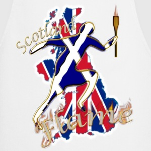 Scotland saltire UK sport runner Aprons - Cooking Apron