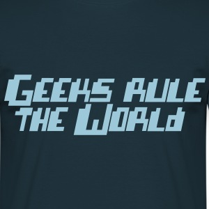 Geeks rule the World - T-shirt Homme