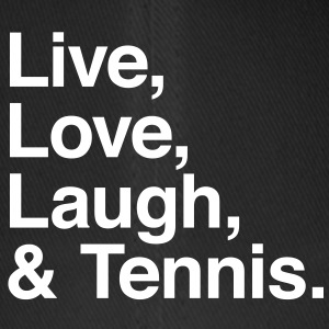 live love laugh and tennis Kasketter & Huer - Flexfit baseballcap