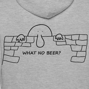 What no beer? - Men's Premium Hoodie