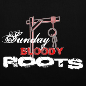 sunday bloody roots Sacs - Tote Bag