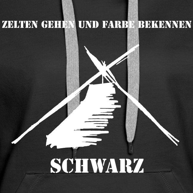 ZELTEN GEHEN - SCHWARZ