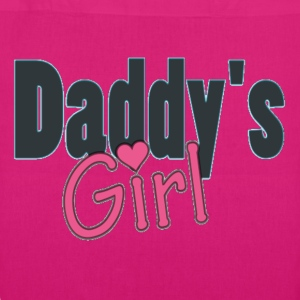 daddy's girl Bags  - EarthPositive Tote Bag