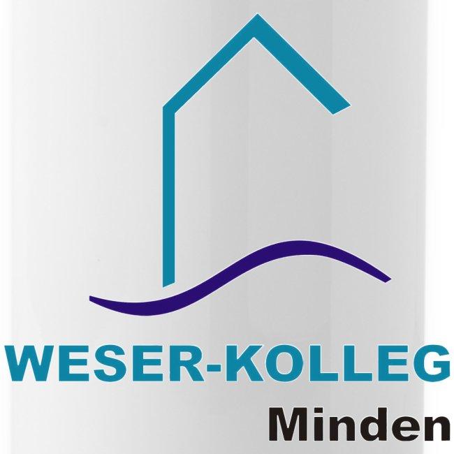 Trinkflasche mit Weser-Kolleg Logo