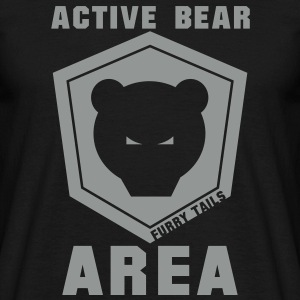 Active Bear 1coul Tee shirts - T-shirt Homme
