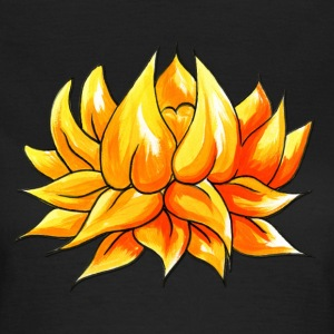 Tattoo design Lotus Flower Watercolour - Women's T-Shirt