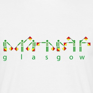 Glasgow Celtic Semaphore T-Shirts - Men's T-Shirt