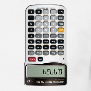Hello Calculator - Men's T-Shirt