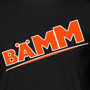 Bääm, bääm, bubble, cartoon, cartoon thought bubble, bang, boom, fun, colorful - Men's T-Shirt