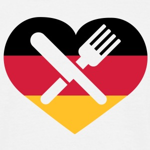 Deutsches Essen | German Food T-Shirts - T-shirt herr