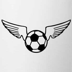 soccer wings Flaskor & muggar - Mugg