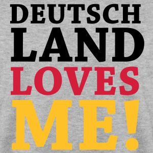 Deutschland loves Me - Schwarz Rot Gold Hoodies & Sweatshirts - Men's Sweatshirt