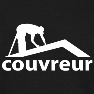 couvreur Tee shirts - T-shirt Homme
