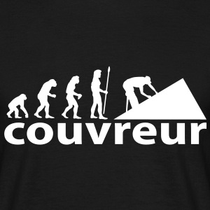 evolution_couvreur Tee shirts - T-shirt Homme