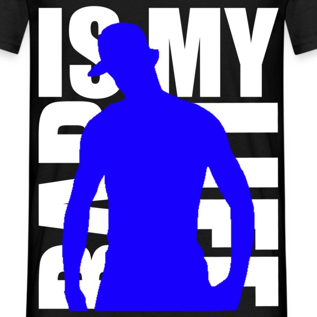 T shirt homme rap is my life