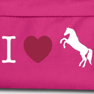I love Ponies wild horse - this design lets you change all colours Väskor - Ryggsäck för barn
