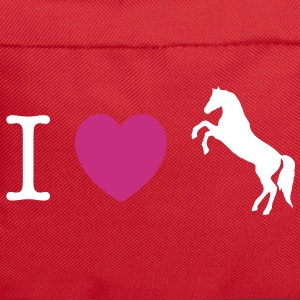I love Ponies wild horse - this design lets you change all colours Tassen - Rugzak