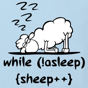 sheep asleep Kinder T-Shirts - Kinder Bio-T-Shirt