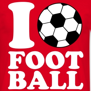 I Love Football V2 Tee shirts - T-shirt Homme