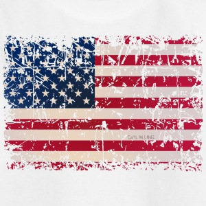 USA Flag Shirts - Teenage T-shirt