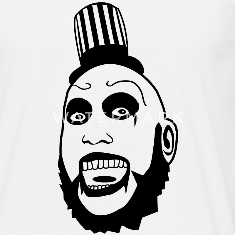 Clown Captain Spaulding - Männer T-Shirt