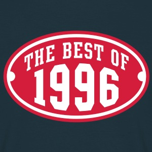 THE BEST OF 1996 2C Birthday Anniversaire Geburtstag T-Shirt - Camiseta hombre