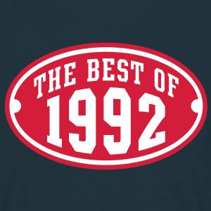 THE BEST OF 1992 2C Birthday Anniversaire Geburtstag T-Shirt - Men's T-Shirt