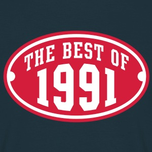 THE BEST OF 1991 2C Birthday Anniversaire Geburtstag T-Shirt - Koszulka męska