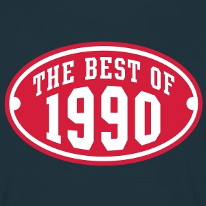 THE BEST OF 1990 2C Birthday Anniversaire Geburtstag T-Shirt - Maglietta da uomo