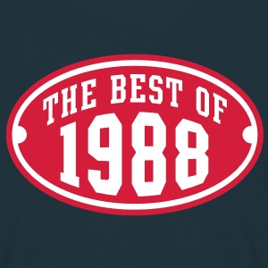THE BEST OF 1988 2C Birthday Anniversaire Geburtstag T-Shirt - Männer T-Shirt