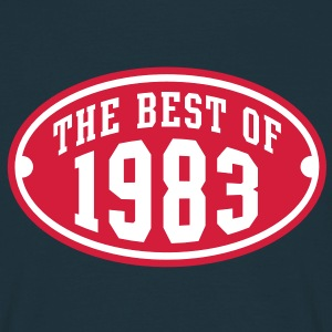 THE BEST OF 1983 2C Birthday Anniversaire Geburtstag T-Shirt - Maglietta da uomo