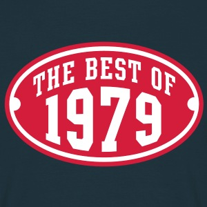 THE BEST OF 1979 2C Birthday Anniversaire Geburtstag T-Shirt - Koszulka męska