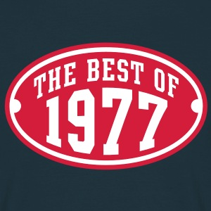 THE BEST OF 1977 2C Birthday Anniversaire Geburtstag T-Shirt - Koszulka męska