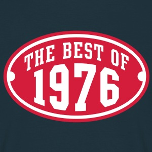 THE BEST OF 1976 2C Birthday Anniversaire Geburtstag T-Shirt - Koszulka męska