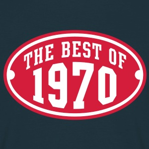 THE BEST OF 1970 2C Birthday Anniversaire Geburtstag T-Shirt - Maglietta da uomo