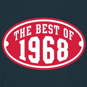 THE BEST OF 1968 2C Birthday Anniversaire Geburtstag T-Shirt RN - Maglietta da uomo