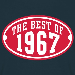 THE BEST OF 1967 2C Birthday Anniversaire Geburtstag T-Shirt RN - Herre-T-shirt