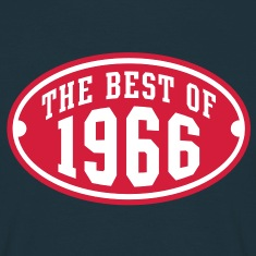 THE BEST OF 1966 2C Birthday Anniversaire Geburtstag T-Shirt RN