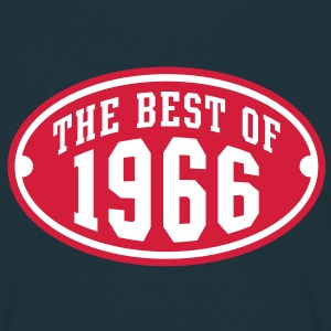 THE BEST OF 1966 2C Birthday Anniversaire Geburtstag T-Shirt RN - Koszulka męska