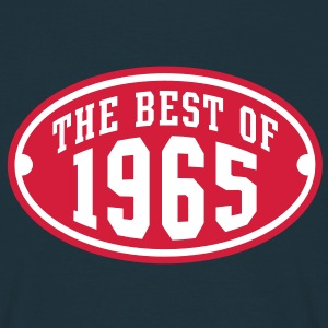 THE BEST OF 1965 2C Birthday Anniversaire Geburtstag T-Shirt RN - Maglietta da uomo
